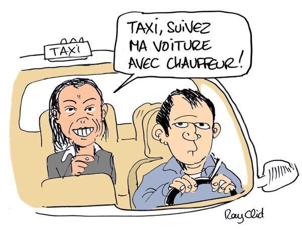 Agnès Saal et sa passion : les Taxis... aux frais de l'État