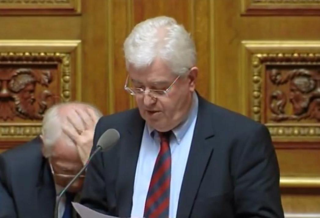 Jean-François Mayet au Sénat