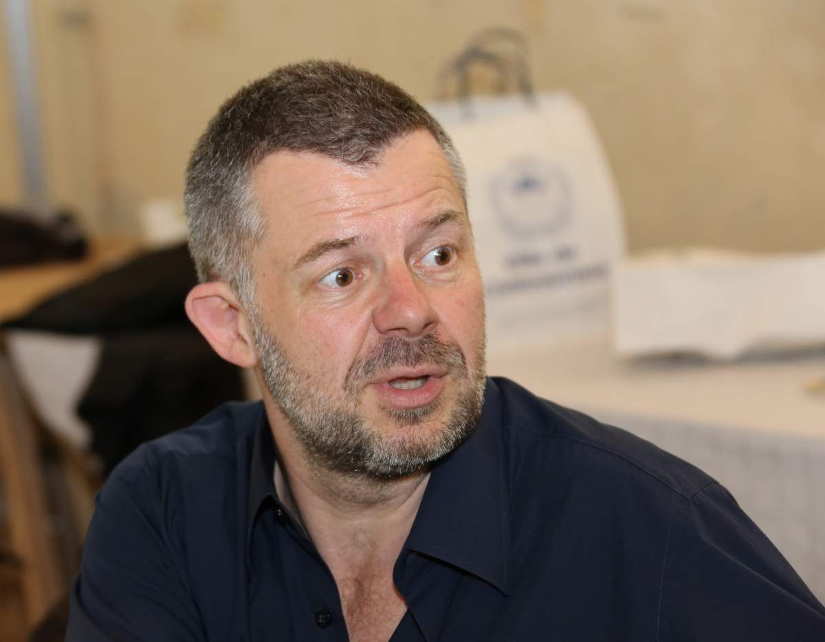 Éric Naulleau à Châteauroux en mai 2013