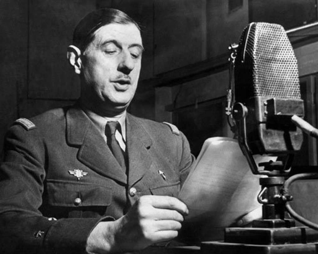 Charles de Gaulle à Londres - Juin 1940