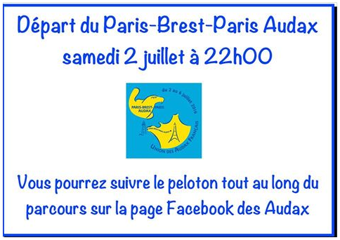 XVIe Paris - Brest - Paris Audax 2016