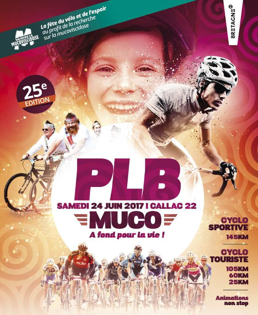 La PLB MUCO : Maillot vélo offert !