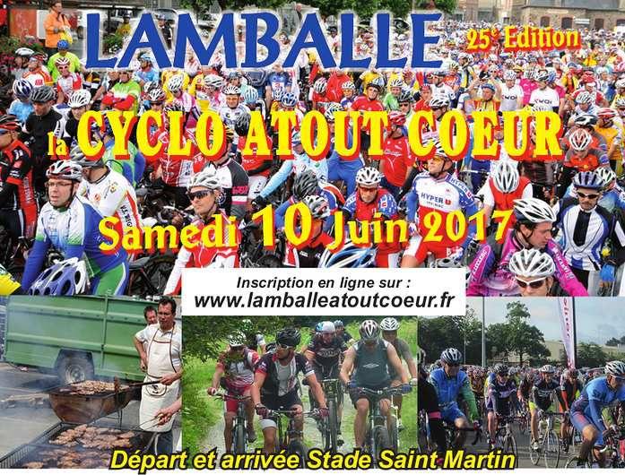 Rando sportive : Lamaballe Atout Cœur - Samedi 10 juin.
