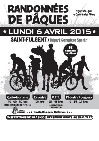 Rando à Saint-Fulgent (85) lundi 6 avril 2015