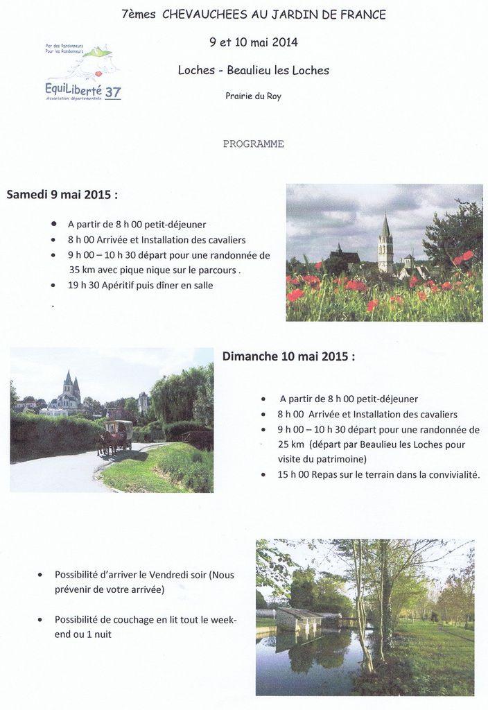 Rassemblement départemental du 37 à Loches les 9 et 10 mai 2015