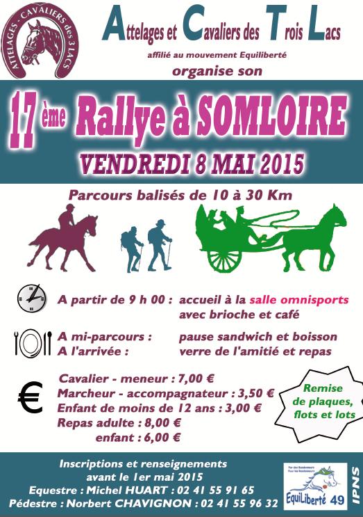 Rando à Somloire (49) vendredi 8 mai 2015
