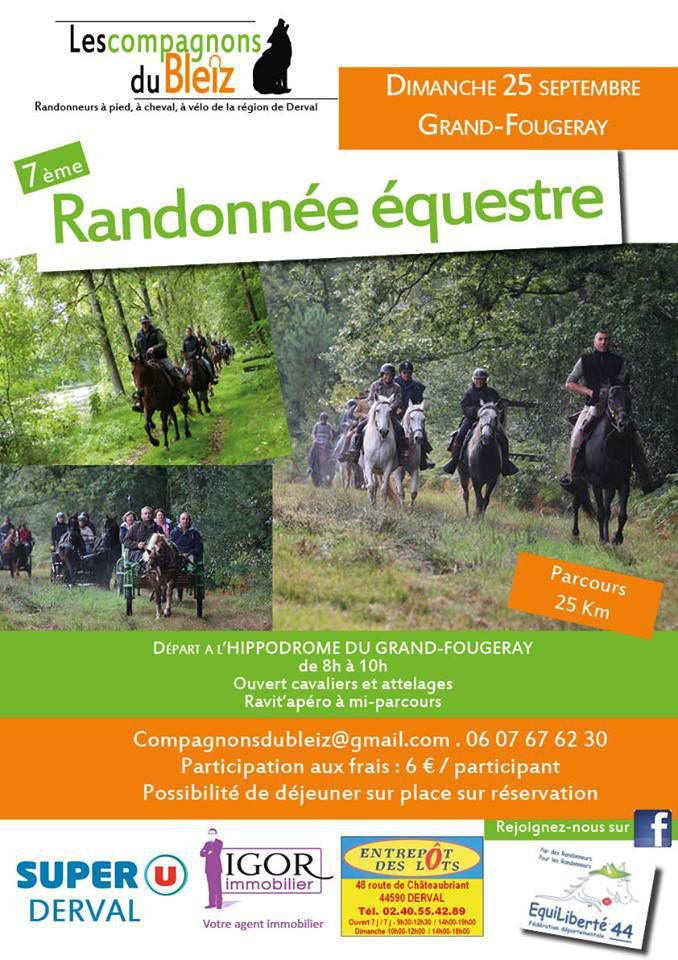 Rando à Grand-Fougeray (44) dimanche 25 septembre 2016