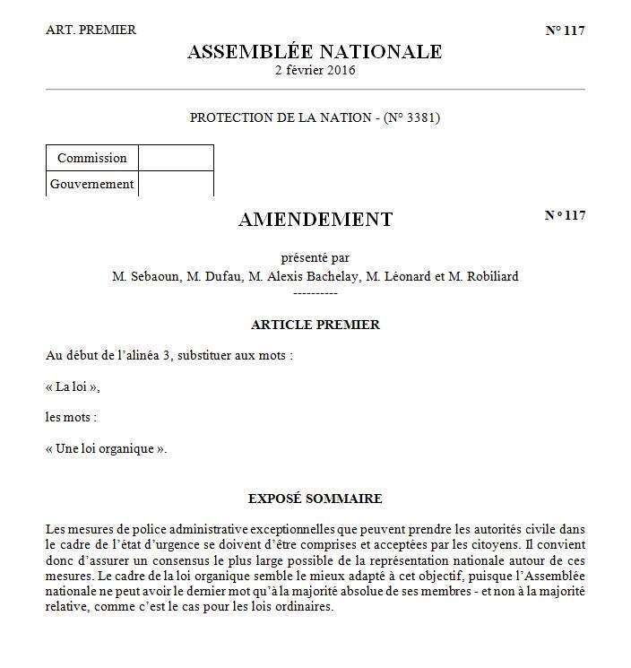 """Gérard Sebaoun : Débat à l'Assemblée nationale sur le projet de loi constitutionnel dit """"de protection de la nation"""""""