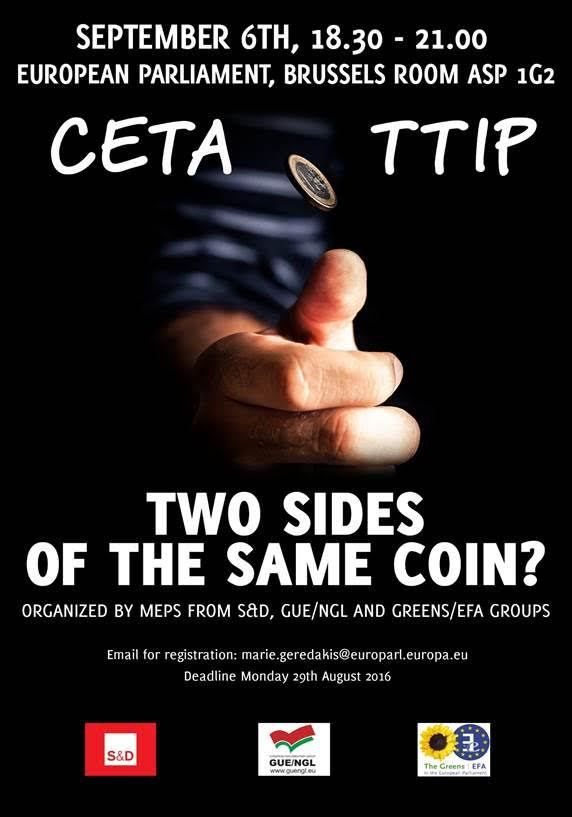 TAFTA-CETA : two sides of the same coin ?
