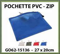 Pochette porte-documents en PVC GO62 15136