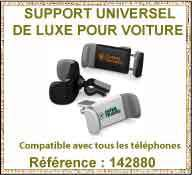 Support de telephone universel pour voiture