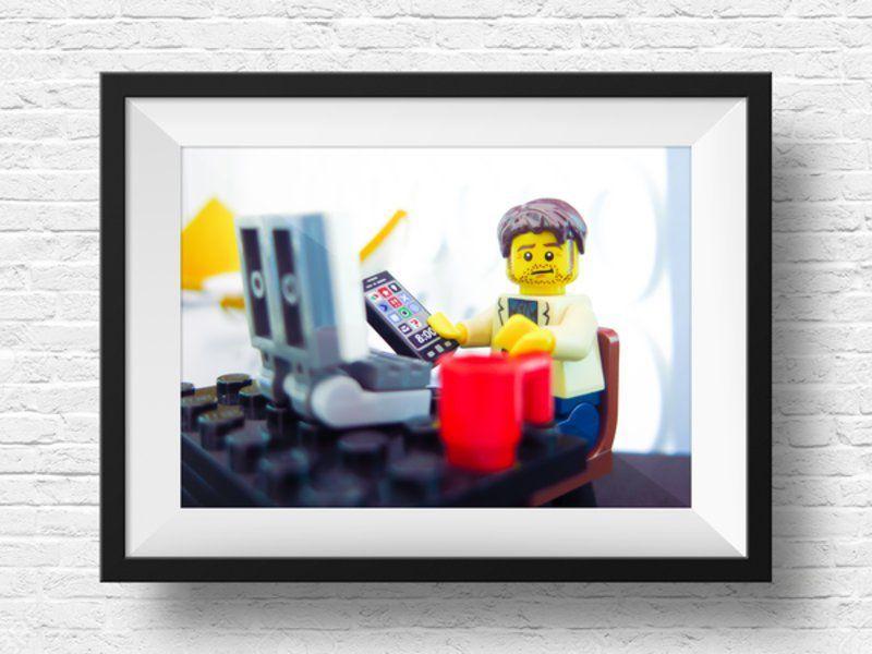 Et si vous complétiez votre collection avec un mini-vous en Lego ...