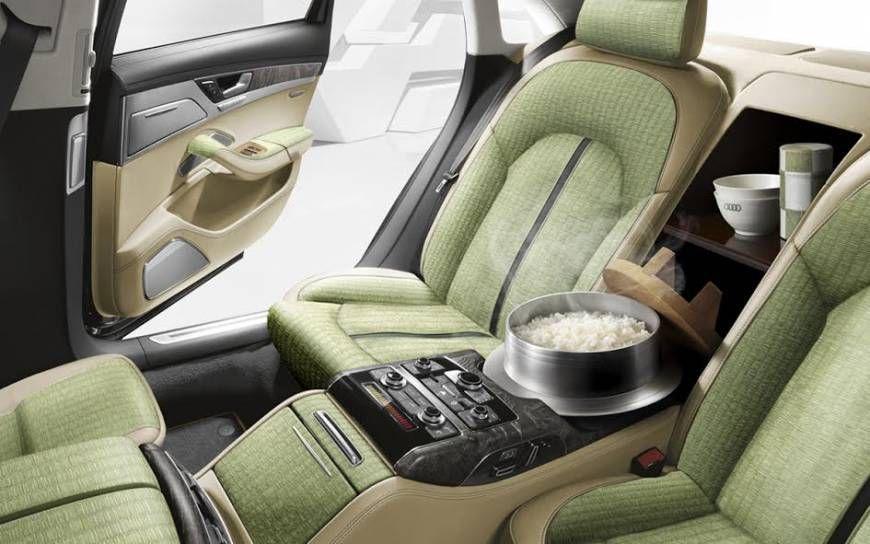Audi Japon propose une A8 avec cuiseur de riz