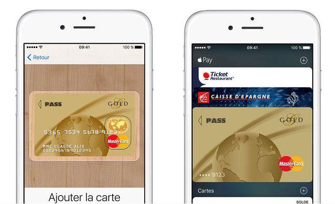 Les titulaires de cartes Visa Banque Populaire et Caisse d'Epargne pourront utiliser Apple Pay cet été