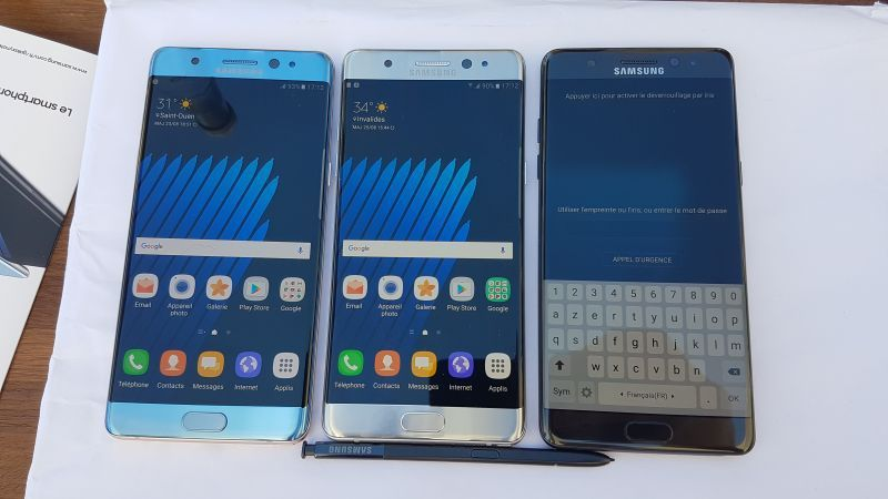 Découverte du Samsung Galaxy Note 7