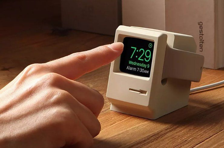 Elago W3 Apple Watch Stand : transforme votre Apple Watch en un Macintosh miniature