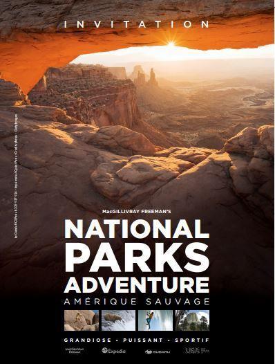 Film National Parks Adventure à La Géode