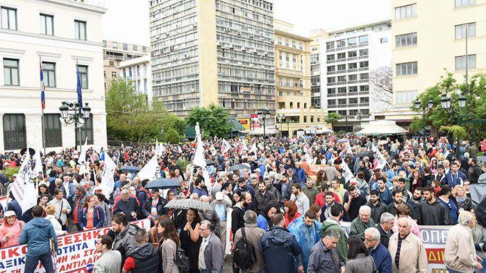 Grève du 17 mai 2017 en Grèce