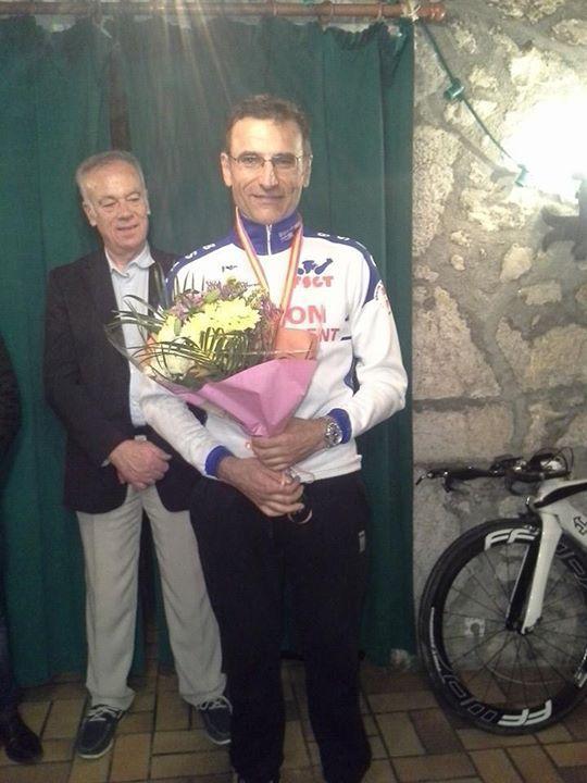 Patrick Dejean vainqueur de la catégorie FSGT 3