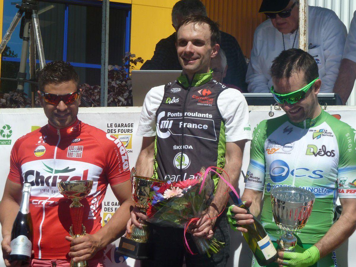Victoire de Julien Potiron à Belley