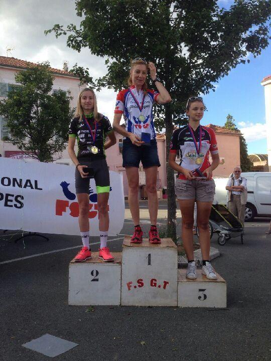 Margot Berthet vice championne Rhône-Alpes FSGT