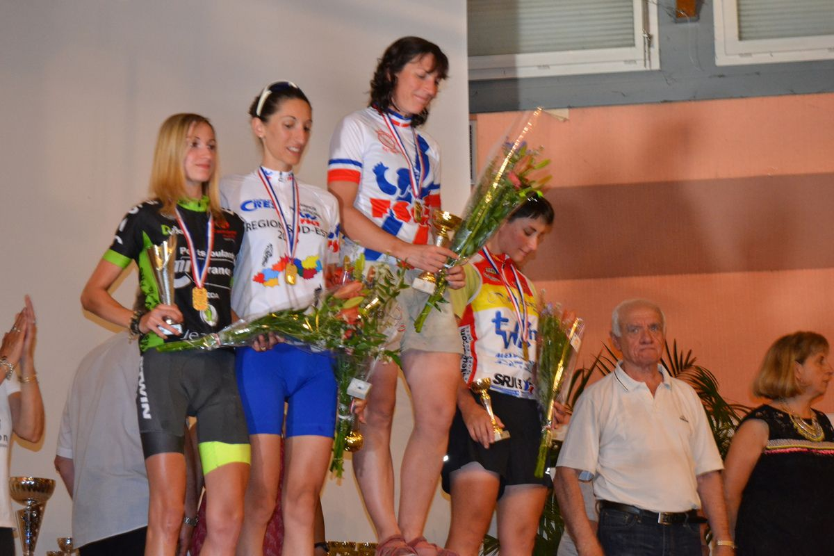 Margot Berthet championne de France Espoir FSGT