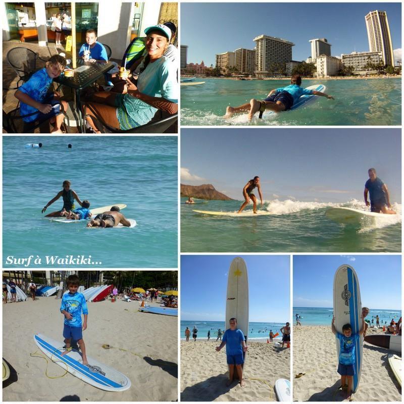 Surf à Waikiki...