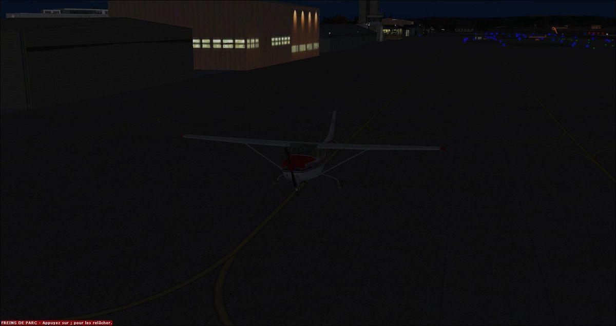 Ca y est cette fois la nuit est tombée, la NAV by night peut commencer...