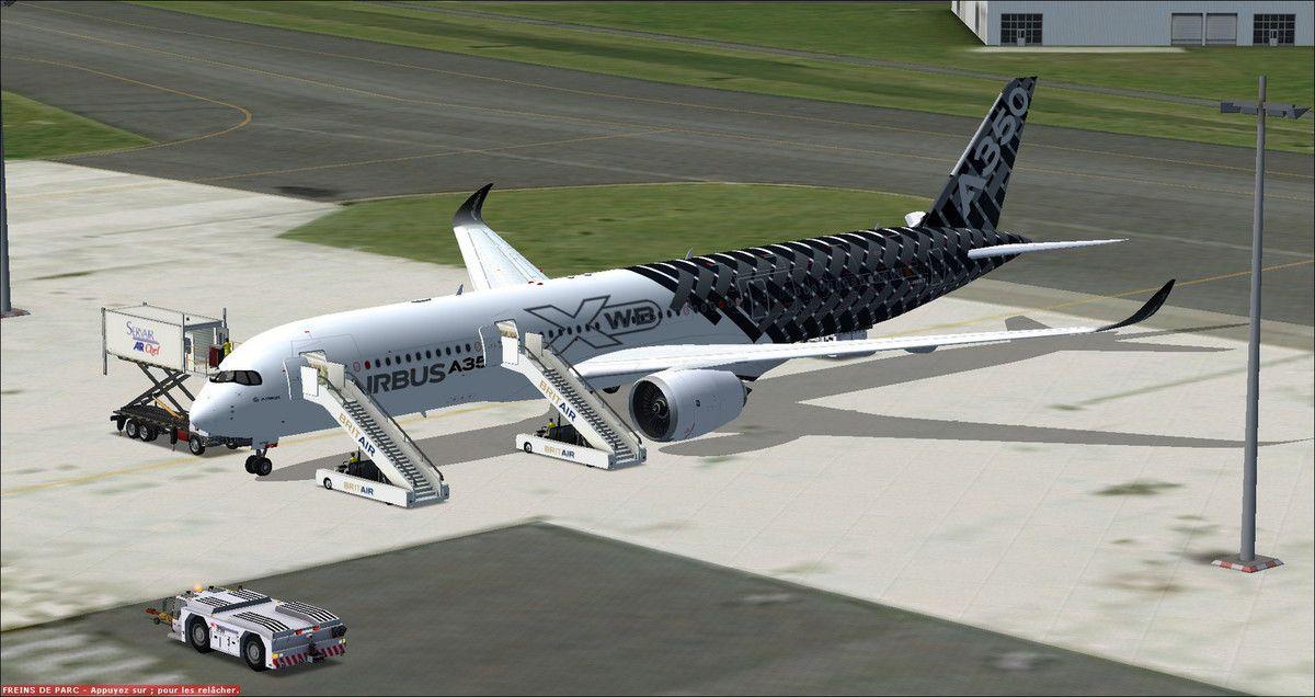 10h50, aéroport de Toulouse-Blagnac, embarquement des passagers volontaires pour un long vol au dessus de l'Océan Atlantique...