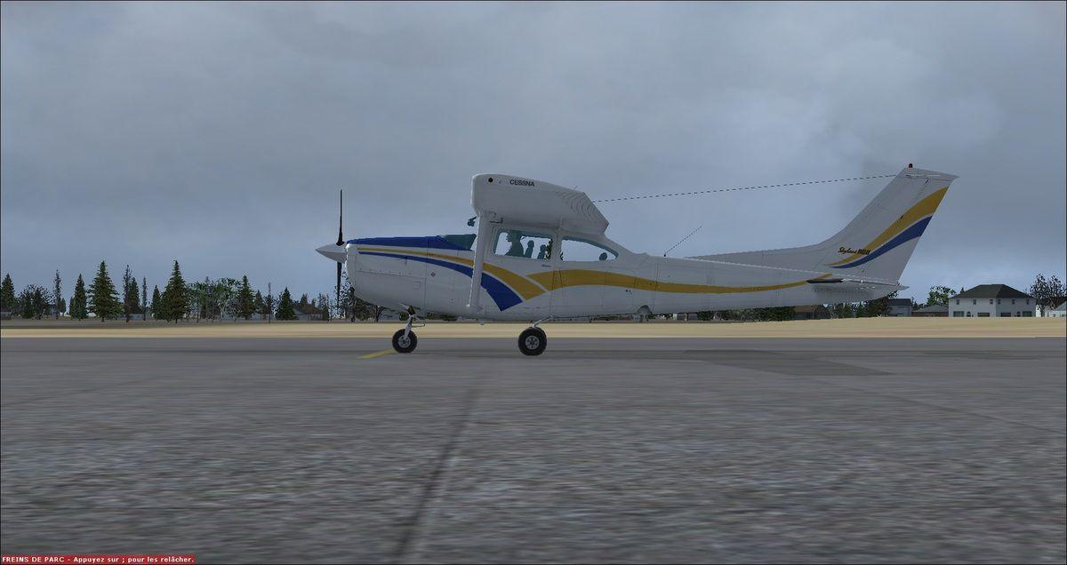Le Cessna 182 RG F-FRED sera prochainement rapatrié en France, suite à l'abandon de la saison 2014/2015 d'Yquet pour cause de problème(s) informatique(s)...