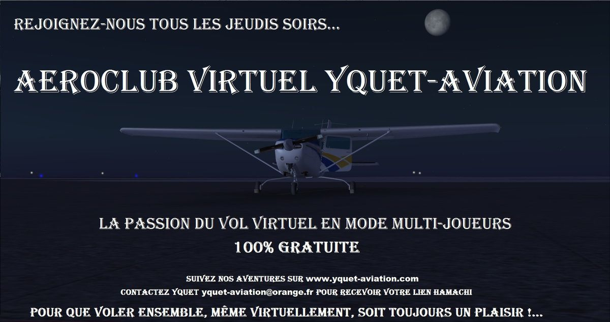Rejoignez YQUET-Aviation...