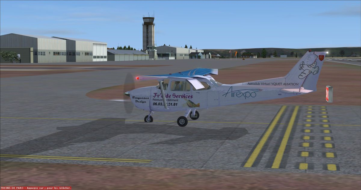 Petit vol test en Cessna 172 Airexpo...