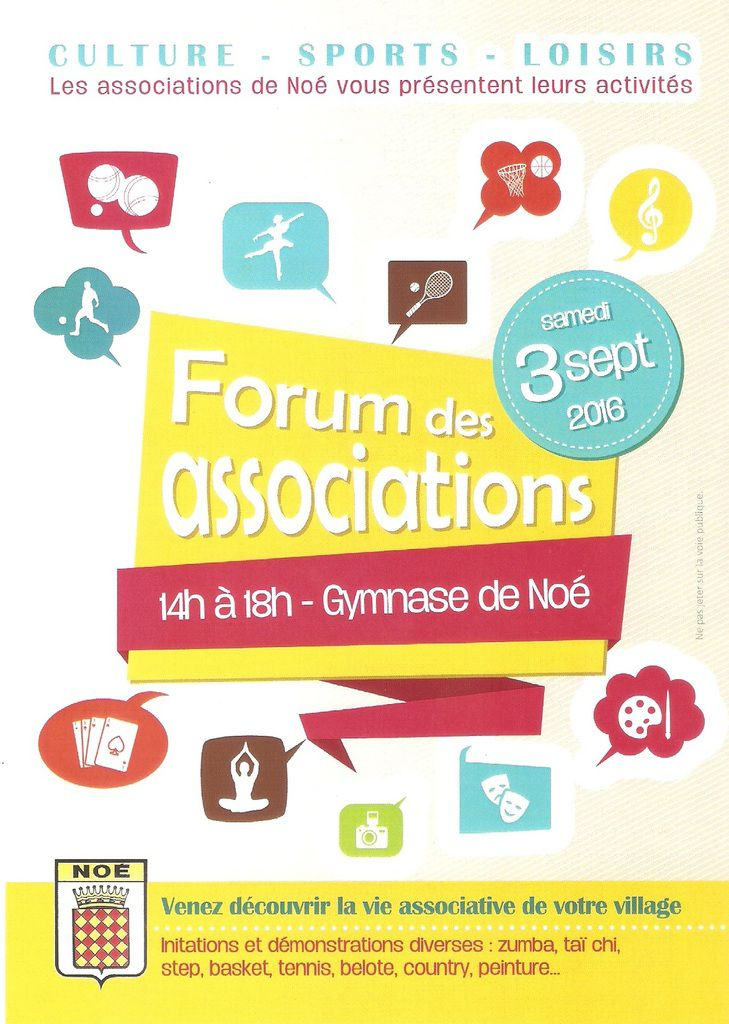 AVYA fait son 1er forum des associations à Noé...