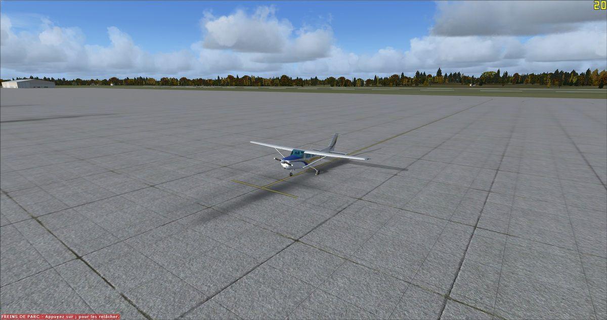 6h00 du matin en heure locale, le Cessna 182RG est enfin prêt au départ...
