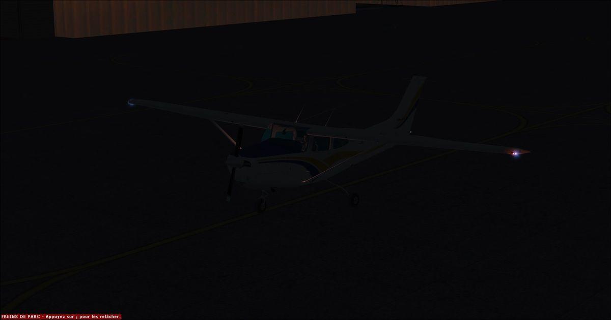 Et voilà, après 5h20 de vol sans encombre, le Cessna 182RG immatriculé F-FRED s'est arrêté sur le parking de l'Association Aéroclub Virtuel Yquet-Aviation... Pour accompagner Yquet entre Lézignan et Muret, Tyto31 a opté pour un A350-900 au départ de Perpignan pour se poser à Toulouse, la capitale aéronautique européenne... Bial3281 a également fait une petite apparition en fin de session...