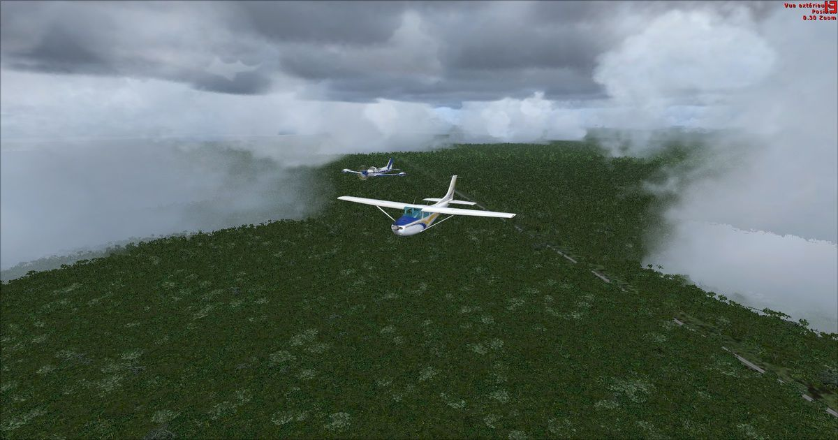 Vol en formation avec Did-95 pour le Président...