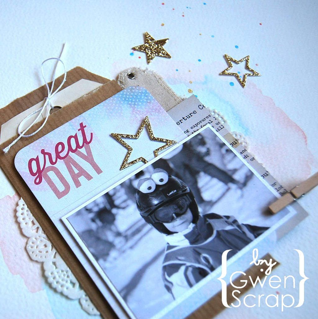 Great Day - Défi avril '15 {DT Inspiration Création}