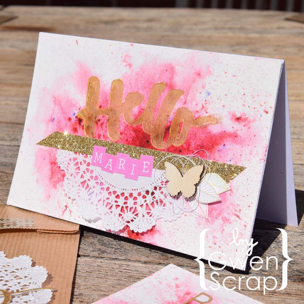 Hello Marie...cartes...cadeaux...et séance photos...