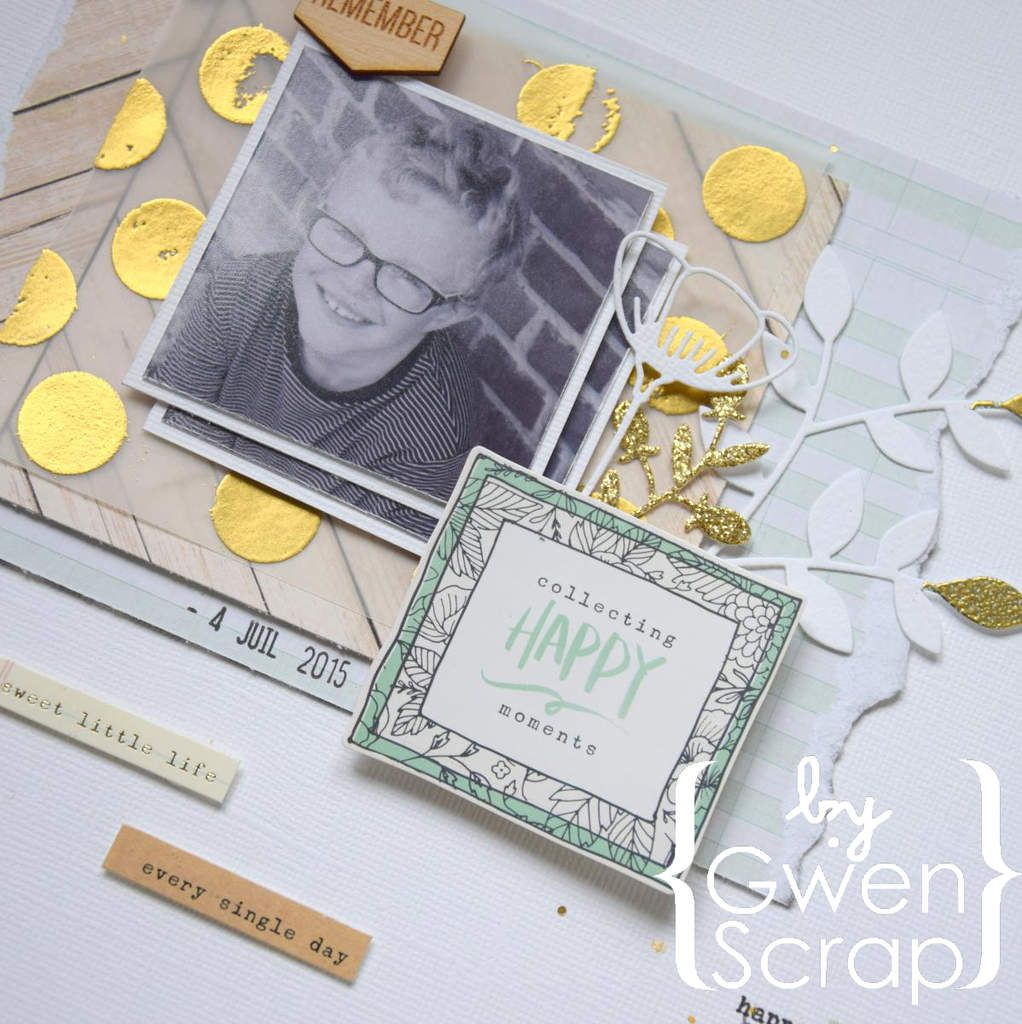 Collecting happy moments {DT Inspiration Création}