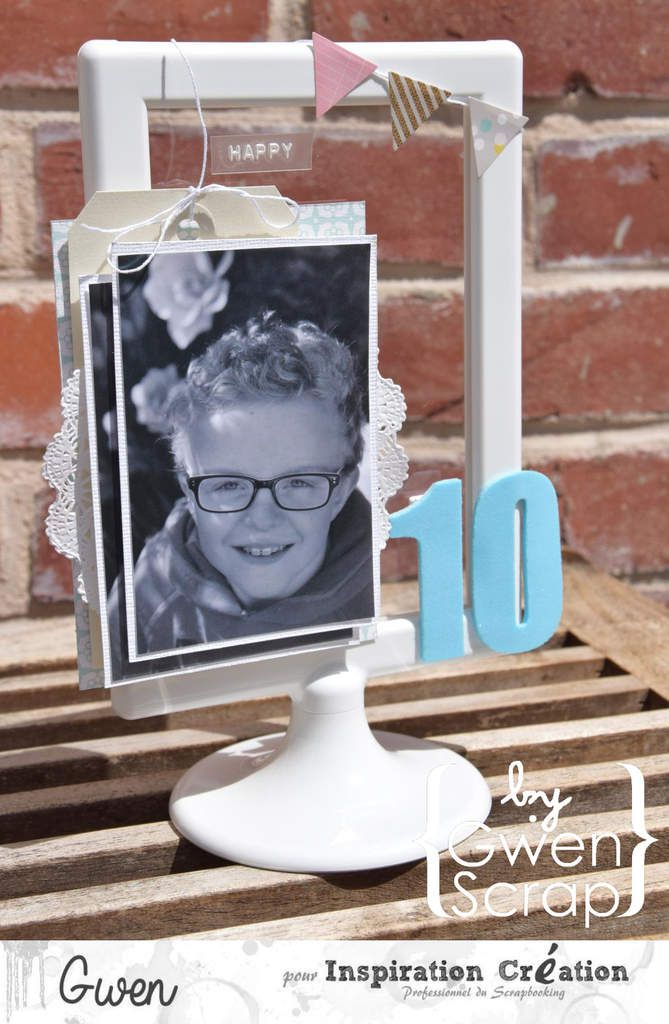 Happy 10 {DT Inspiration Création}