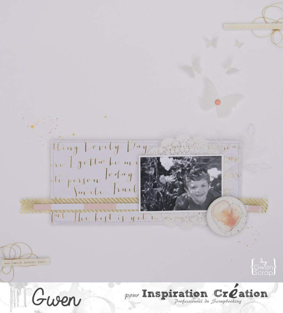 Memories of simple moments {Sketch - DT Inspiration Création}