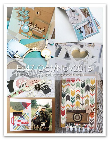 Portraits intemporels {Article Esprit Scrapbooking}