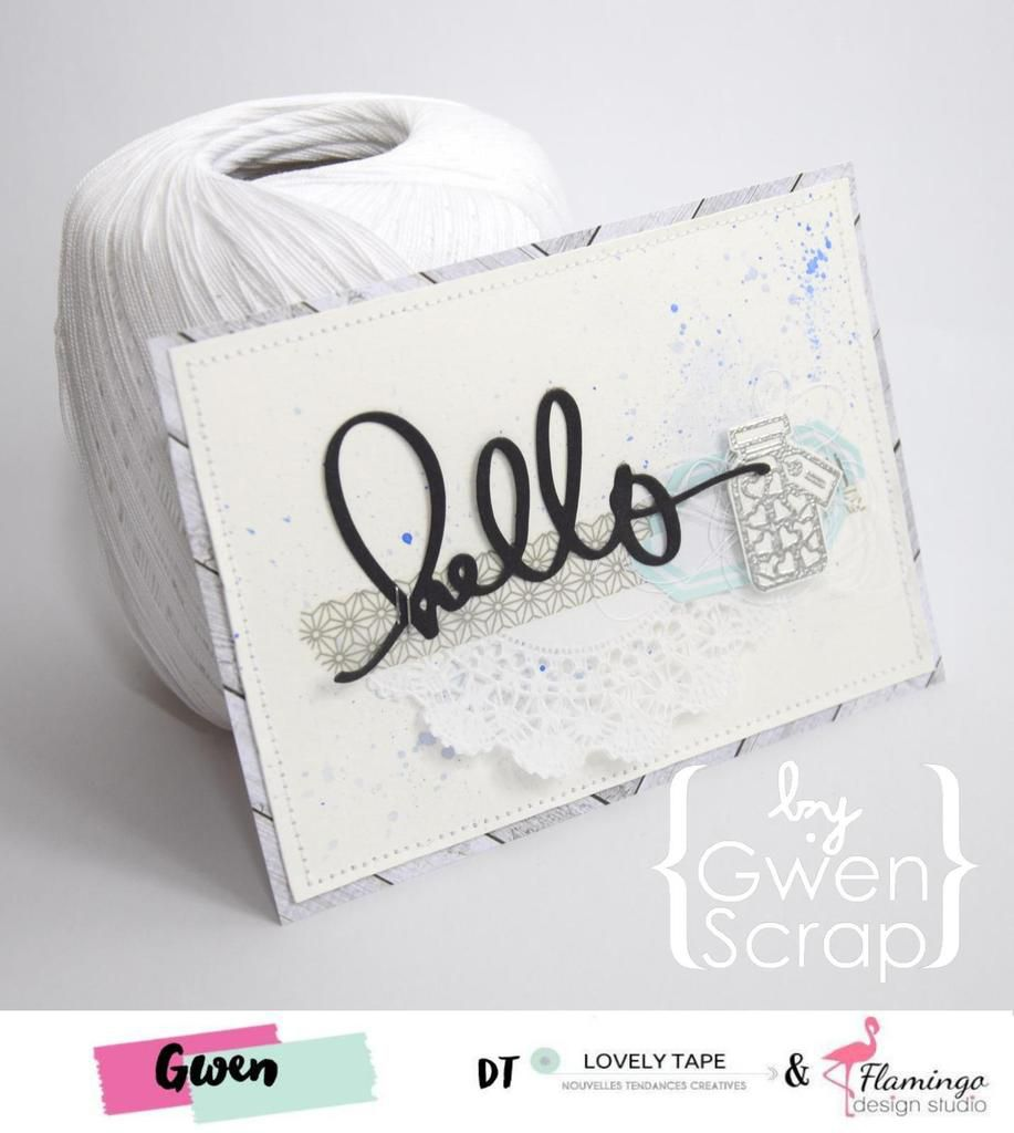 Hello {DT LovelyTape x FlamingoDesignStudio}