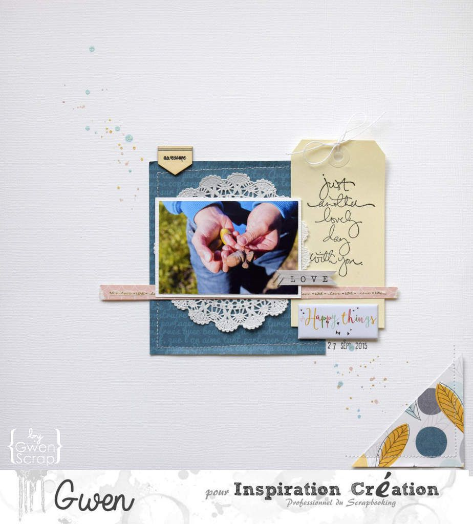 Happy things {DT Inspiration Création}