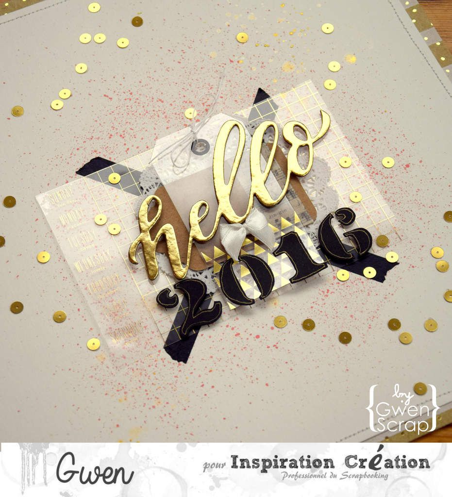 Hello 2016 {DT Inspiration Création}