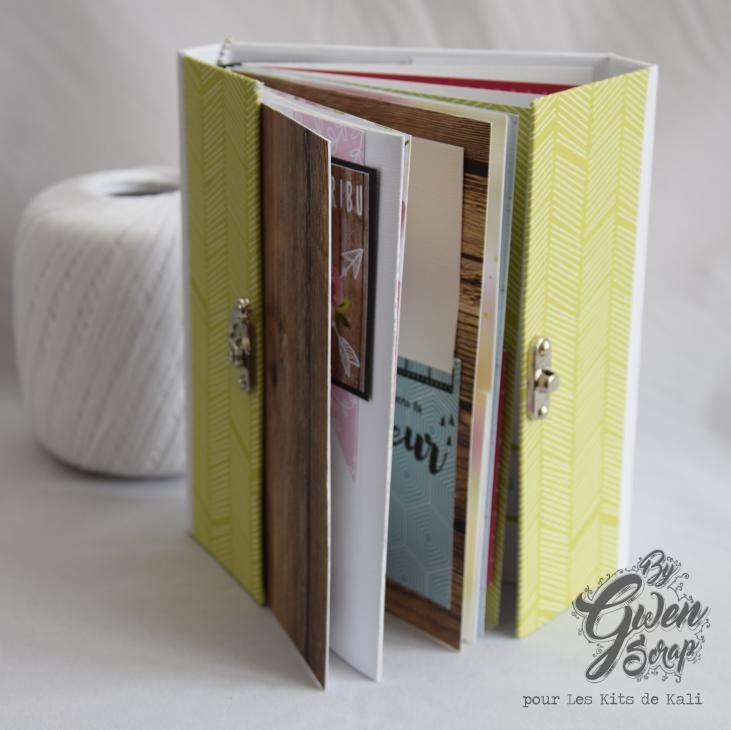 Mini-album printanier {Les Kits de Kali}
