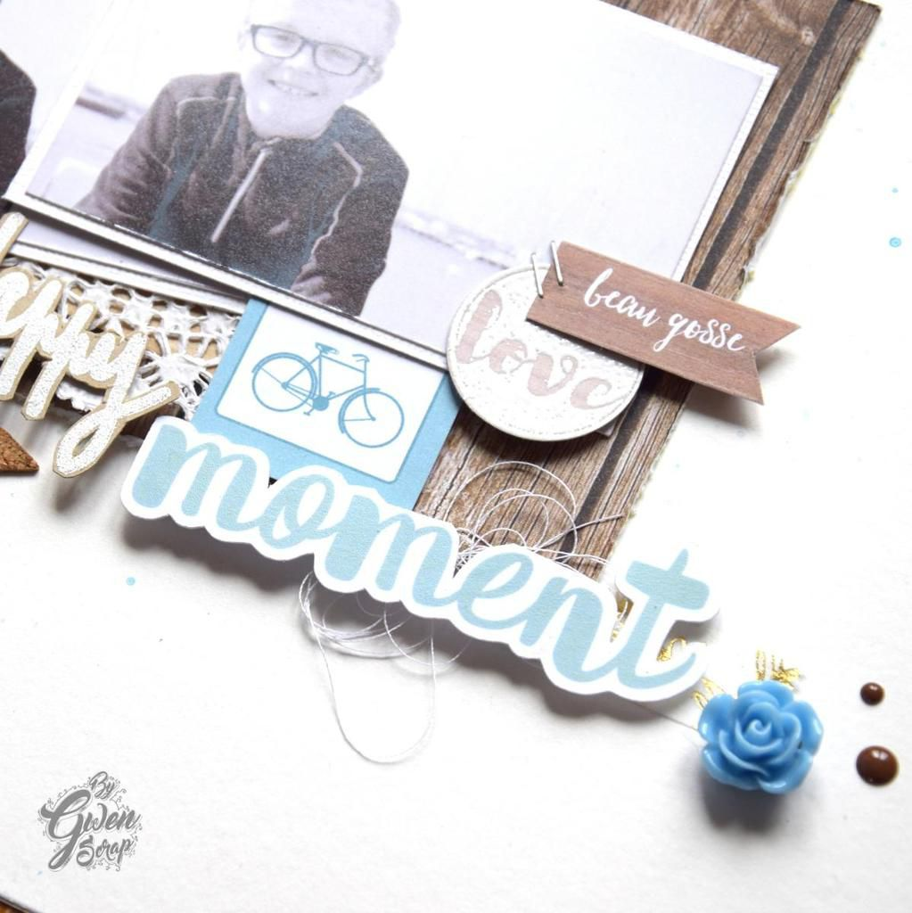 100% Happy moments {DT Inspiration Création}