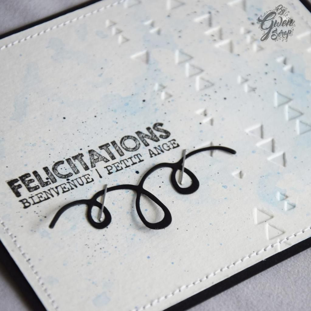 Carte : Félicitations {DT LovelyTape x Flamingo Design Studio}