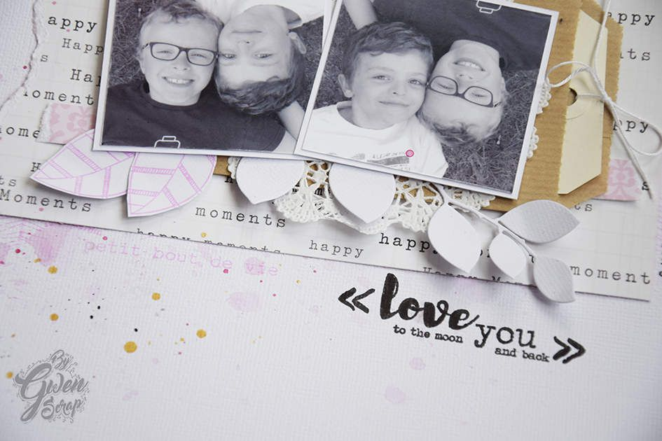 Love you to the moon &amp&#x3B; back {DT LovelyTape x FlamingoDesignStudio}