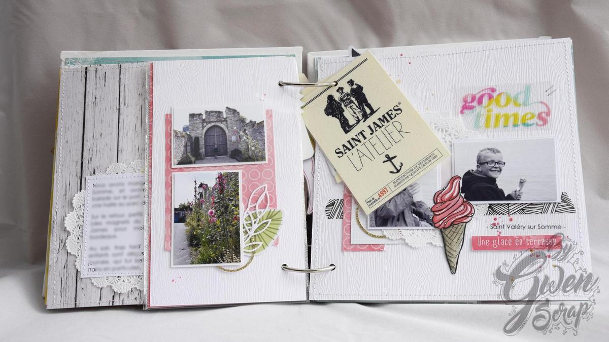 Mini-album &quot&#x3B;Vacances&quot&#x3B; {DT Inspiration Création}